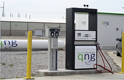 CNG - Collinwood fueling station.