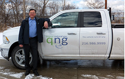 CNG - Pick up truck with Mel Kurtz.