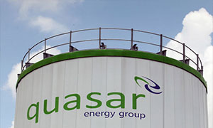 The quasar energy tower at the Wooster sewage plant Thursday, July 10, 2014. (Gus Chan / The Plain Dealer)