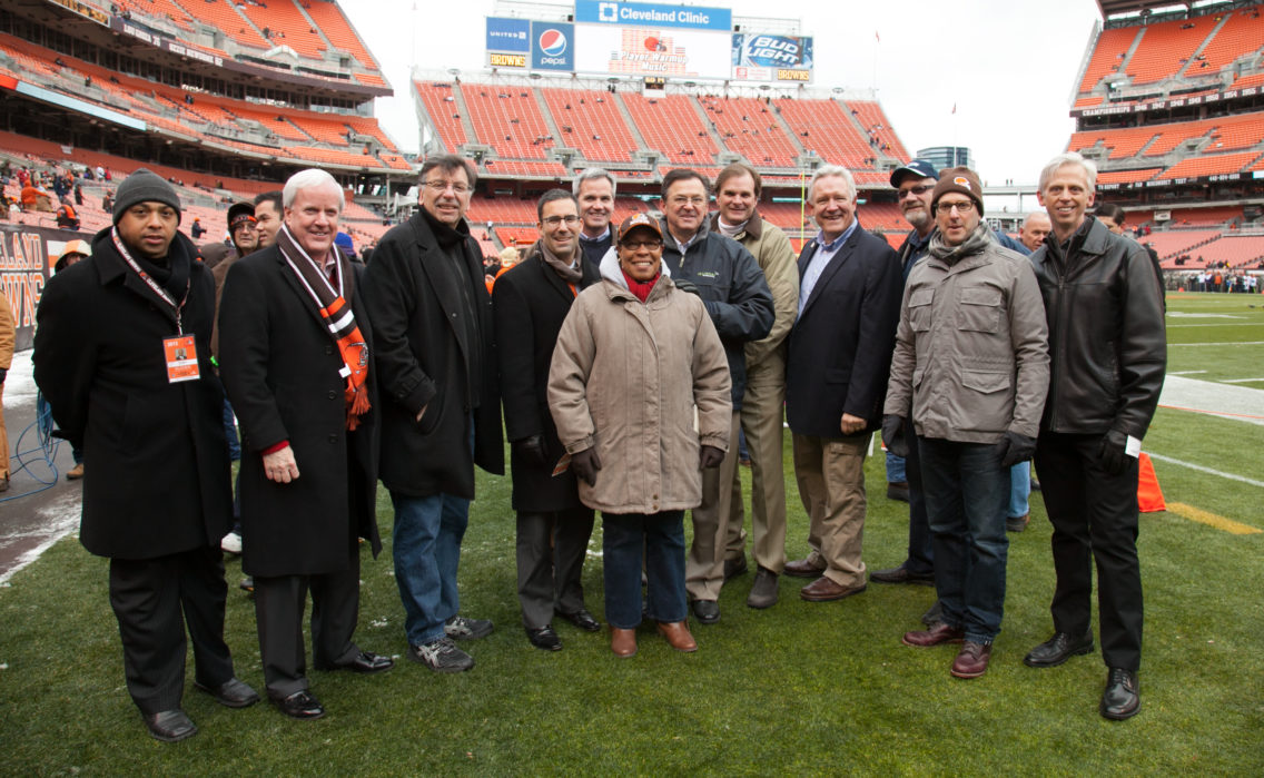 Cleveland Browns Group Photo